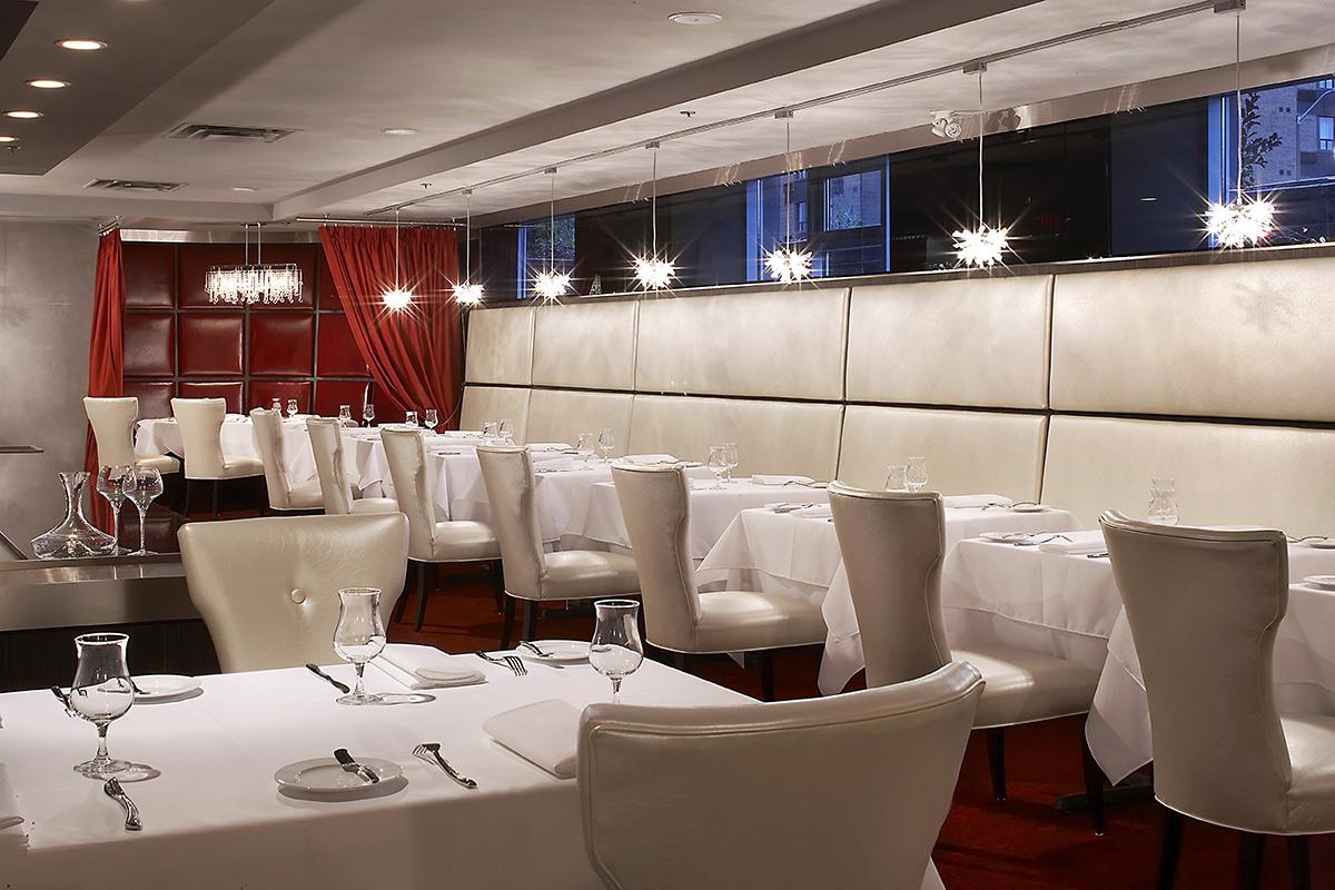 AG Inspired Cuisine dining room