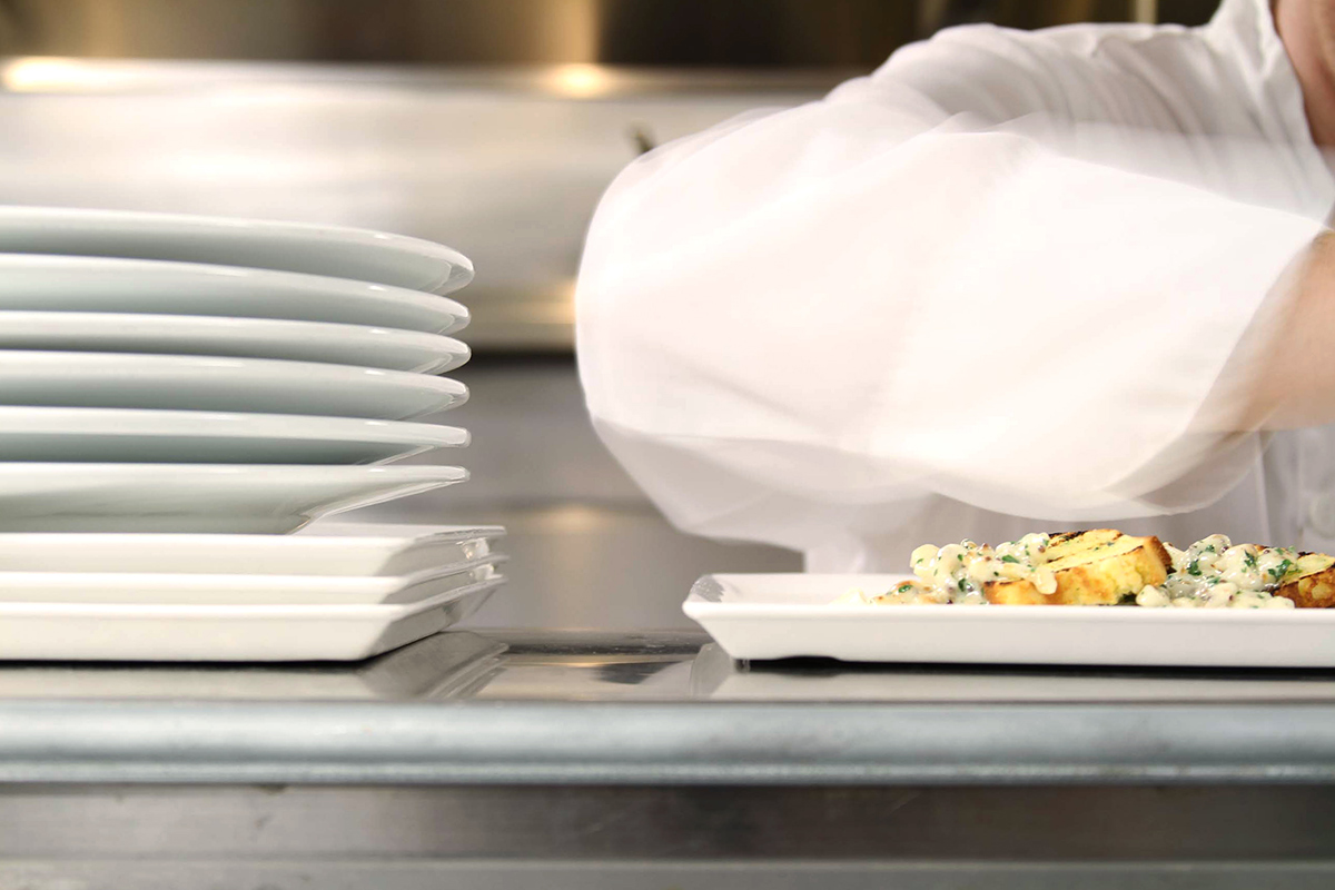 AG Inspired Cuisine kitchen