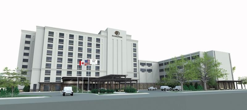 DoubleTree by Hilton Niagara Falls, NY Final Rendering